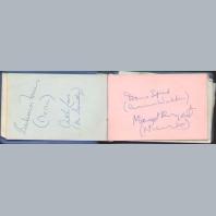 Coronation Street Autograph Book