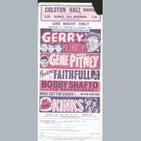 Gerry & The Pacemakers Handbill